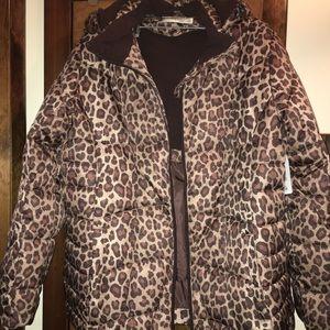 Cheetah Print Winter Jacket